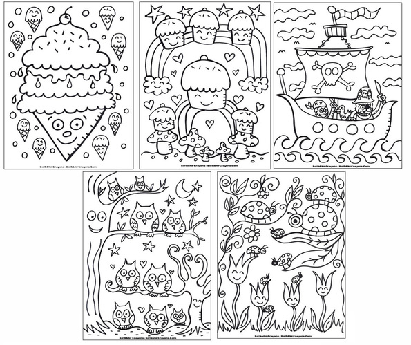 picture - Custom Coloring Book